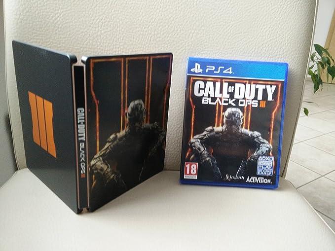 Call of Duty: Black Ops III - Steelbook Edition - PlayStation 4 ...