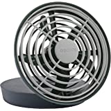 O2COOL 5-Inch Portable USB Fan, Grey