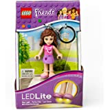 LEGO Friends Olivia Keychain Light - 2.75 Inch Perfect for Backpacks, Keychains - Moving Parts, Long Lasting LED's