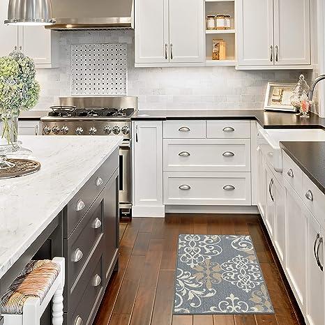Amazon.com : Maples Rugs Kitchen Rug - Eleanor 1\'8 x 2\'10 ...