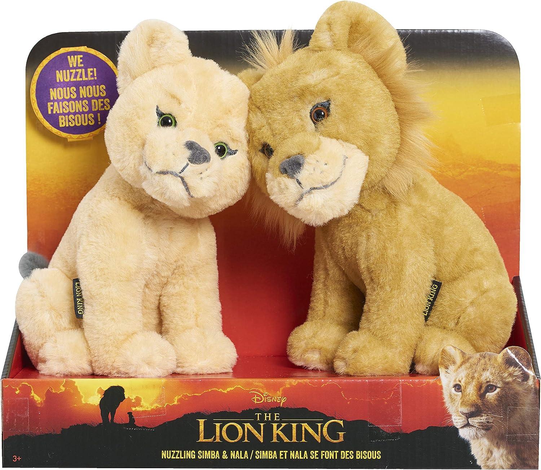 Lion King Touching Heads Plush Simba   Nala - Amazon Exclusive
