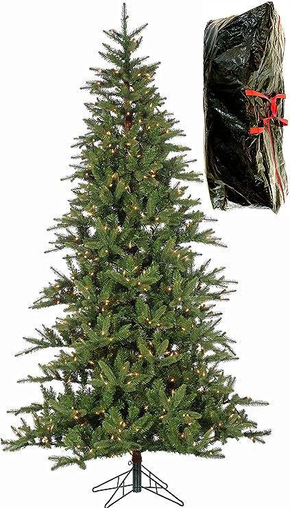 "7'6"" PRE-LIT BALSAM PINE, Natural Looking Artificial Christmas Tree, - Amazon.com: 7'6"