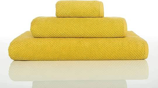Graccioza - Toalla de baño de algodón Peinado Nido de Abeja - Bee Waffle: Graccioza: Amazon.es: Hogar