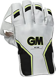 GM Unisex ST30Wicket Keeping Guanti 2018, Giallo, Small