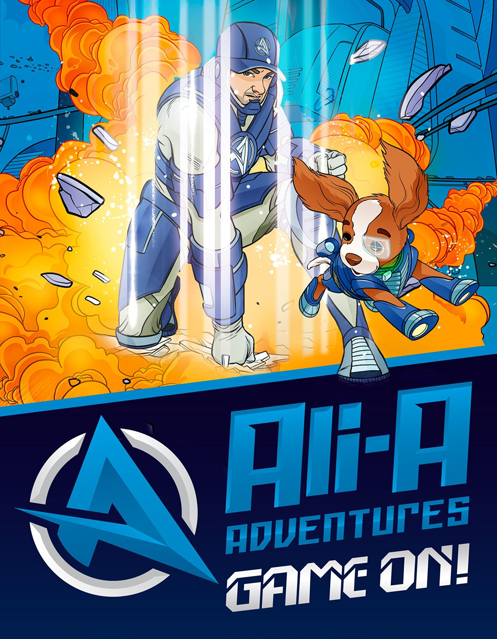 Amazon.com: Ali-A Adventures: Game On! The Graphic Novel ...