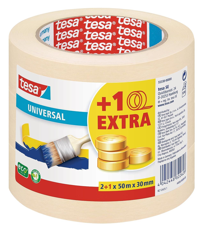Kreppband 30mm50M beige TESA 052870000002 4042448804846