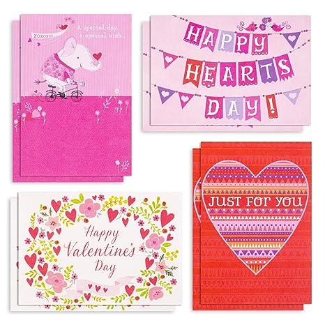 Amazon.com: Hallmark - Juego de tarjetas de San Valentín ...