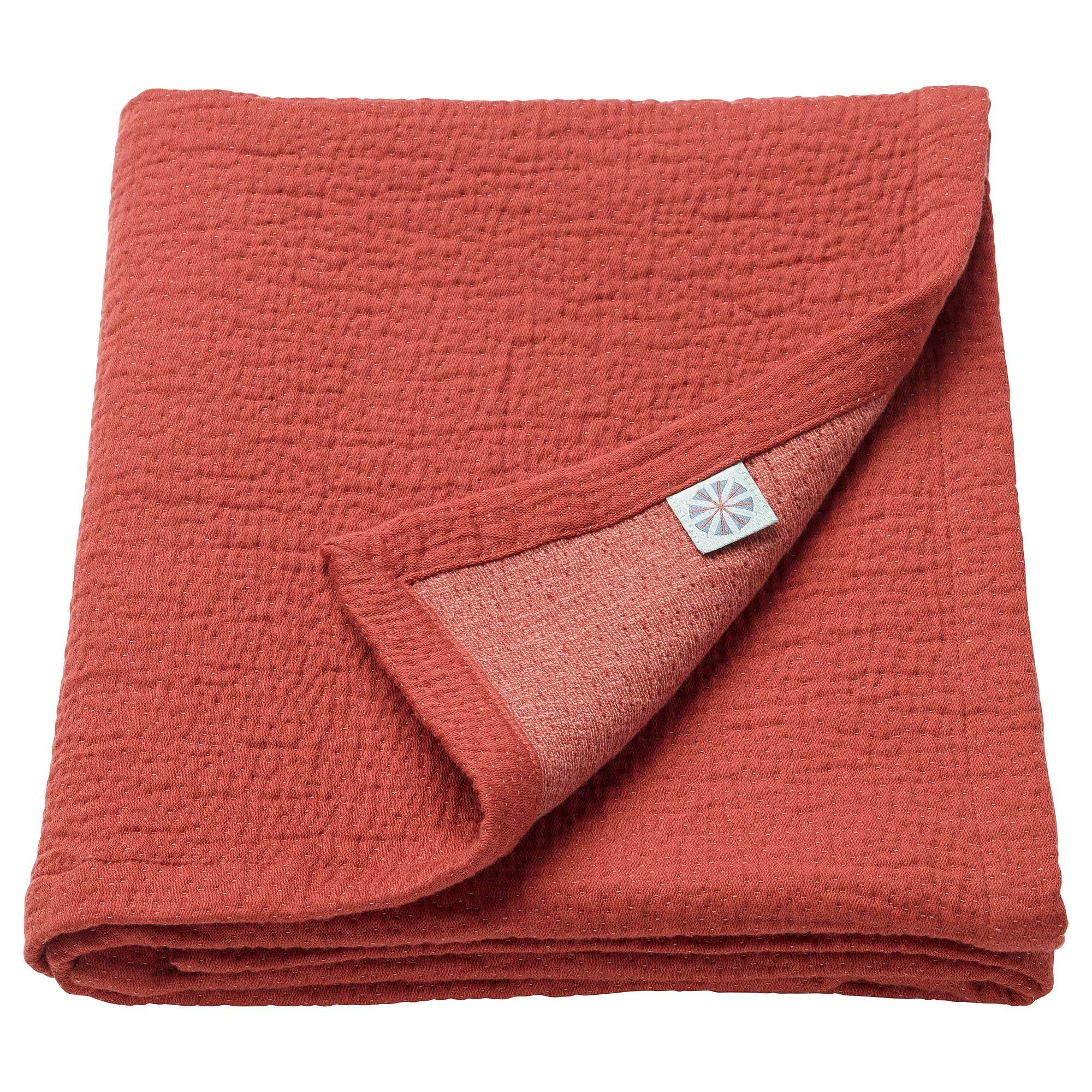 IKEA.. 303.640.46 Tillgiven Baby Blanket, Dark Red
