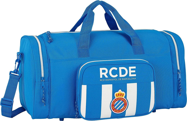 Safta Bolsa De Deporte R.C.D. Espanyol Oficial 550x270x260mm ...