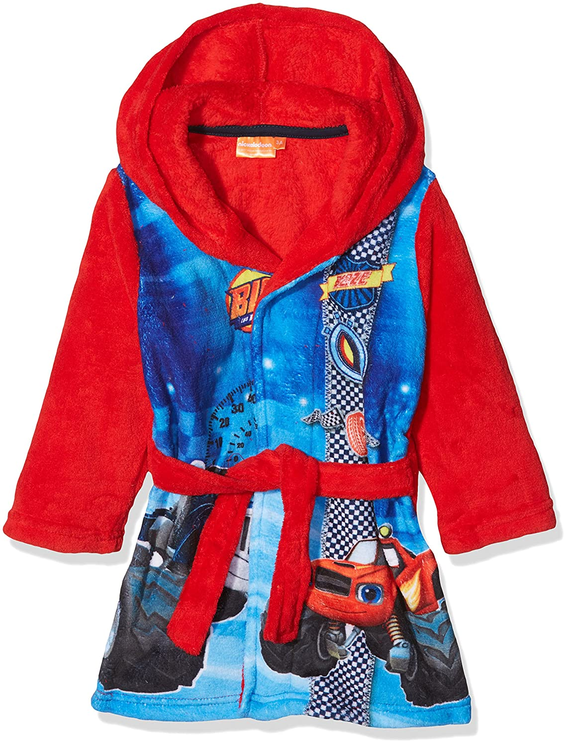Boy's Blaze Fire Dressing Gown Sun-City