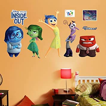 Amazon.com: Fathead Disney Inside Out Collection Real Decals: Home ...