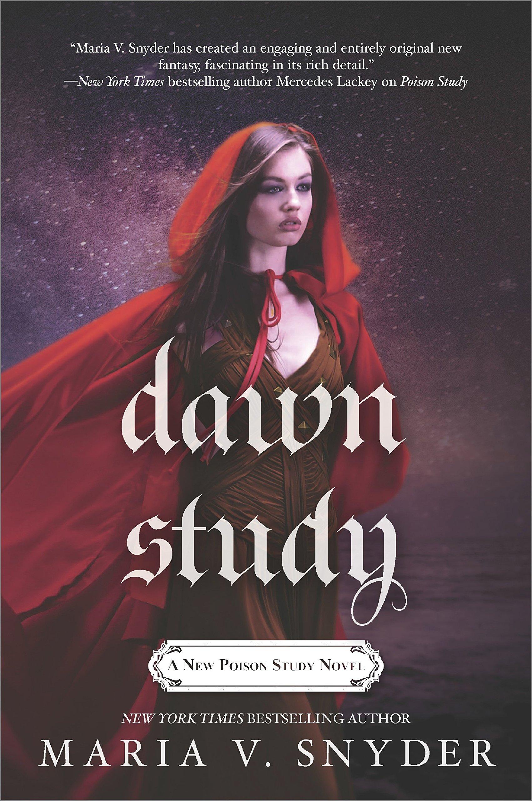 Dawn Study (study Series): Maria V Snyder: 9780778319856: Amazon: Books