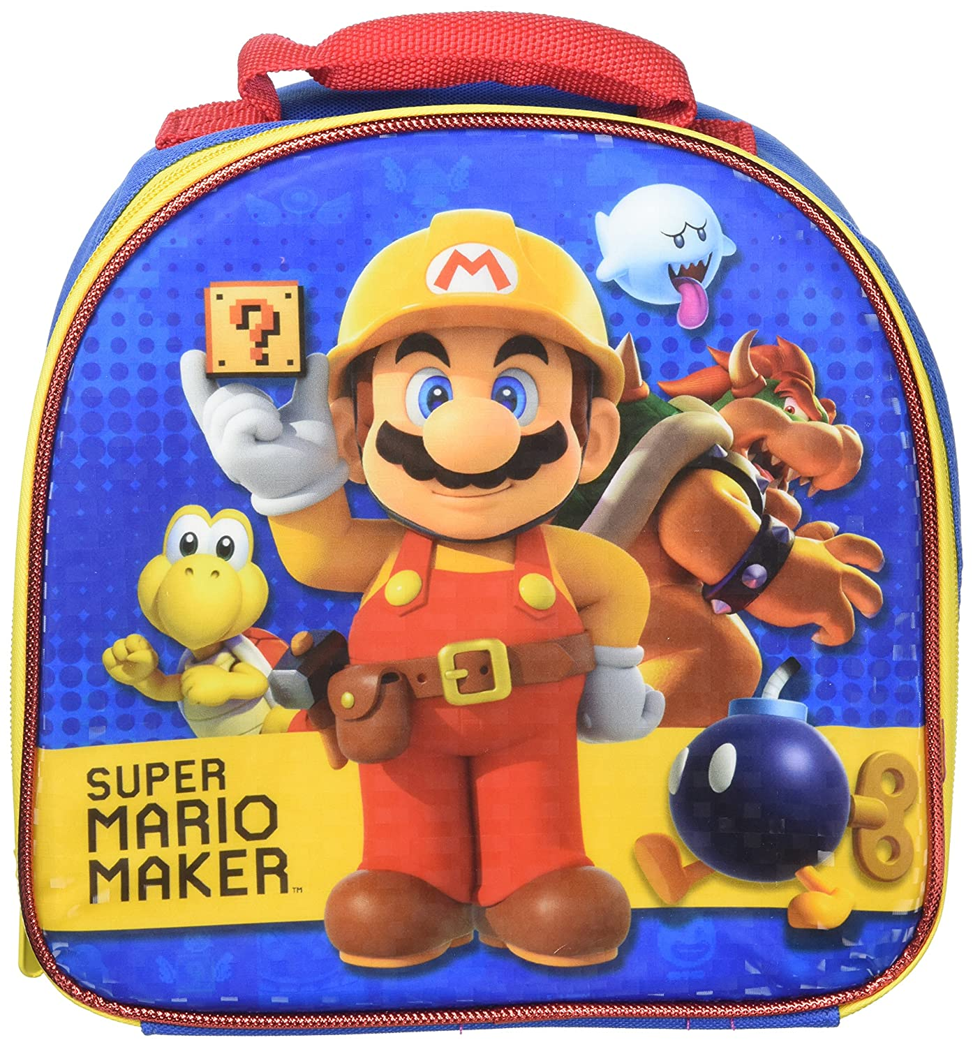 mario dome shaped lunch bag toys games