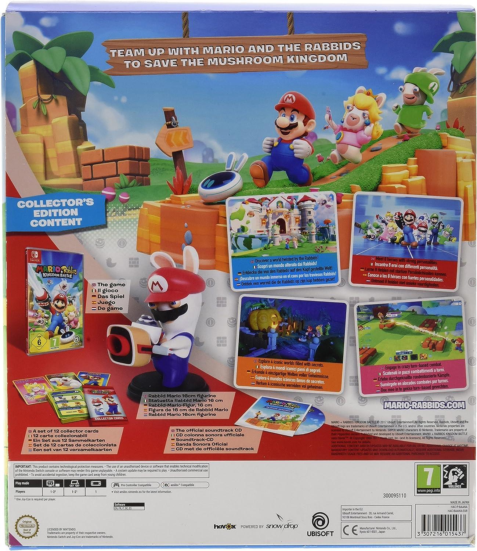 Mario + Rabbids: Kingdom Battle Edición: Amazon.es: Videojuegos