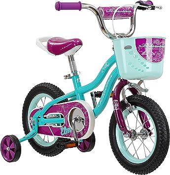 Schwinn Elm Bicicleta para niñas y niños: Amazon.es: Deportes y ...