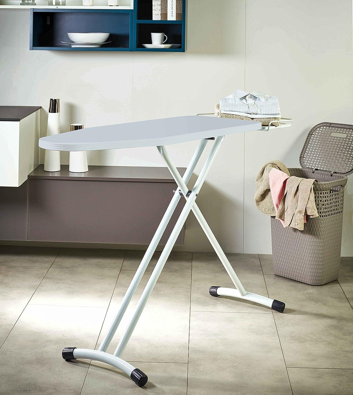 ironing board furniture. polti vaporella essential ironing board, 122 x 43.5cm: amazon.co.uk: kitchen \u0026 home board furniture m