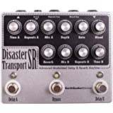 EarthQuaker Devices Disaster Transport SR Dual Delay Effects Pedal with Reverb & Modulation