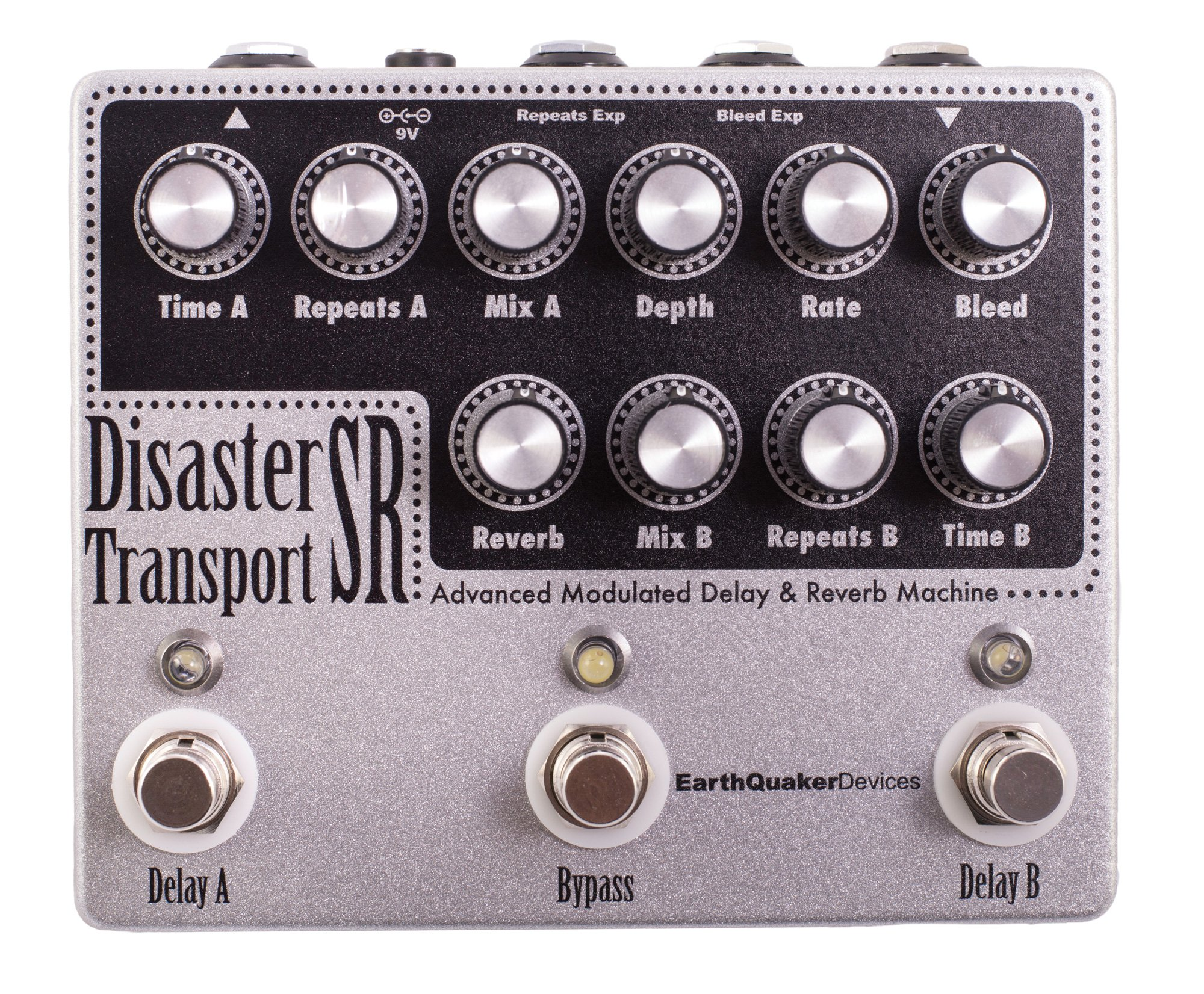Earthquaker Devices Disaster Transport Sr Dual Delay Univibe Pedal Wiring Diagram Effects With Reverb Modulation Musical Instruments