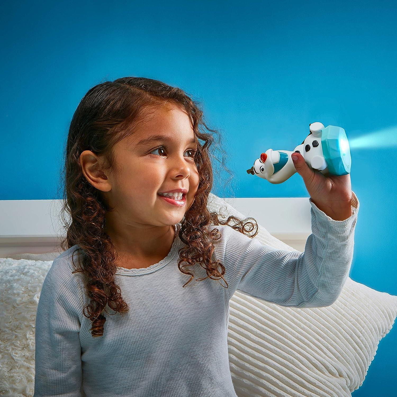 White Veilleuse et Lampe Torche GoGlow Buddy Disney 279FZO
