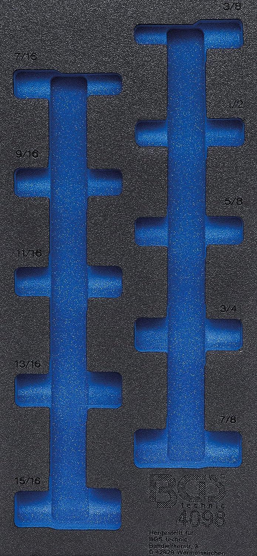 BGS 30833 1//6 Werkstattwageneinlage 4-tlg. Ratschenschlüssel