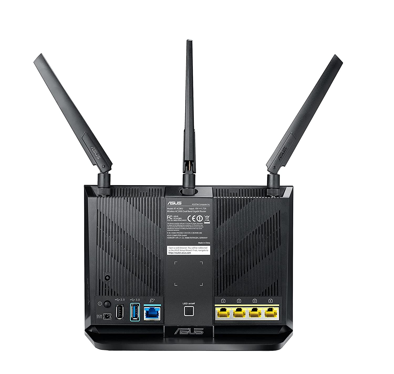 ASUS RT-AC86U AC2900 Gaming DualBand WLAN Router: Amazon.de ...