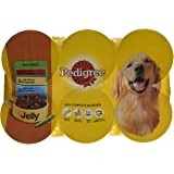 PEDIGREE Dog Food Meaty Meals in Jelly 6 x 400 g (Pack of 4, Total 24 Cans)