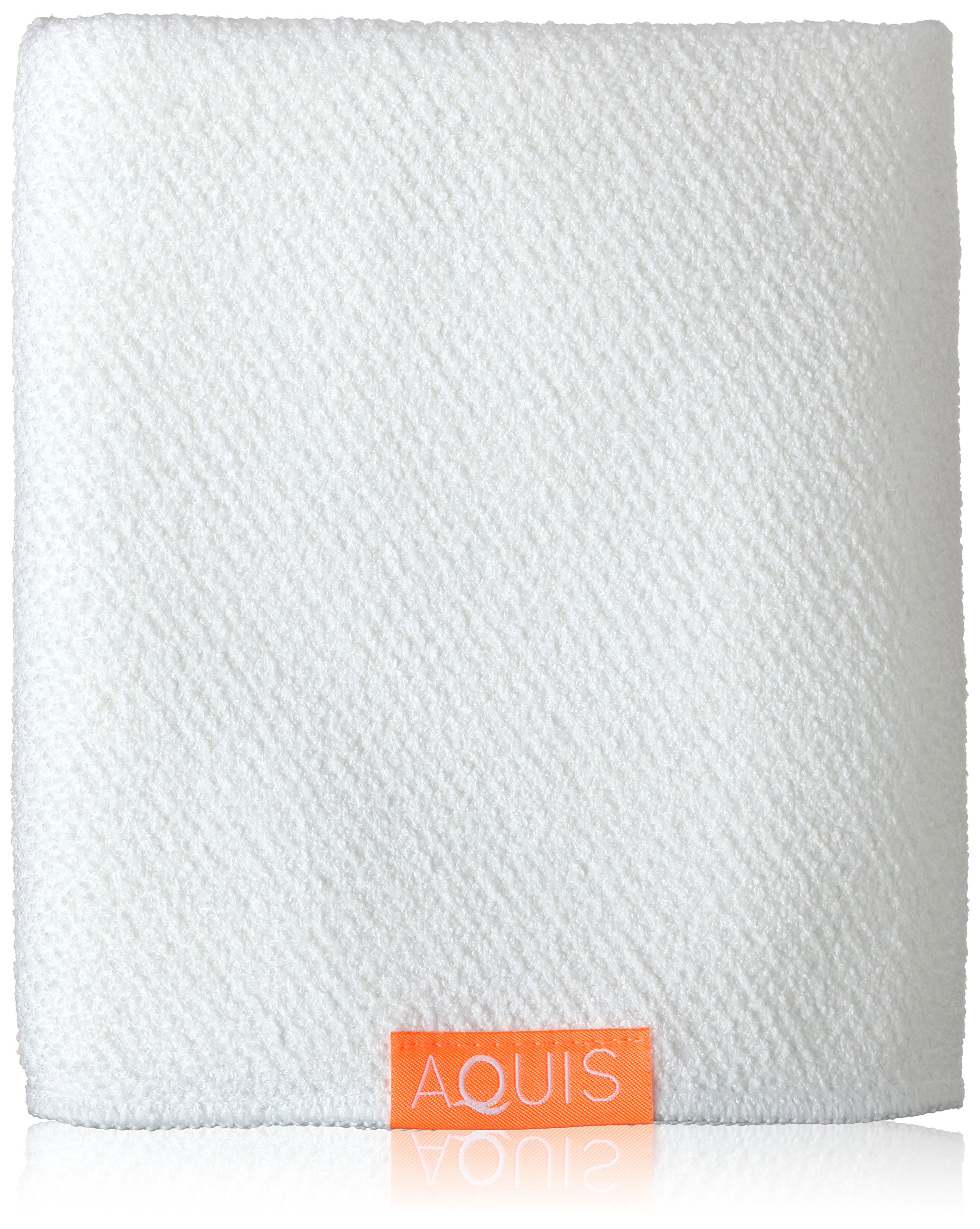 Aquis Lisse Luxe Hair Towel, White, 7 oz. by AQUIS (Image #1)