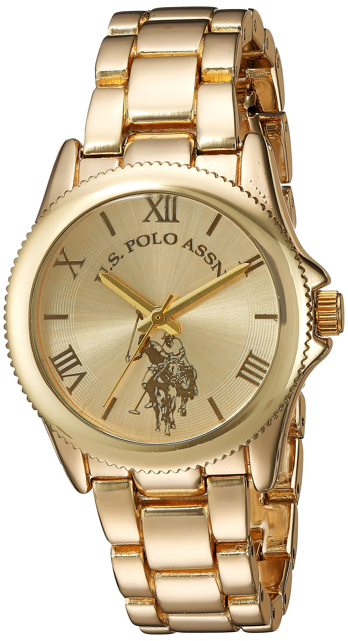 Women's Analog-Quartz Watch with Alloy Strap, Gold, 7 (Model: USC40043)