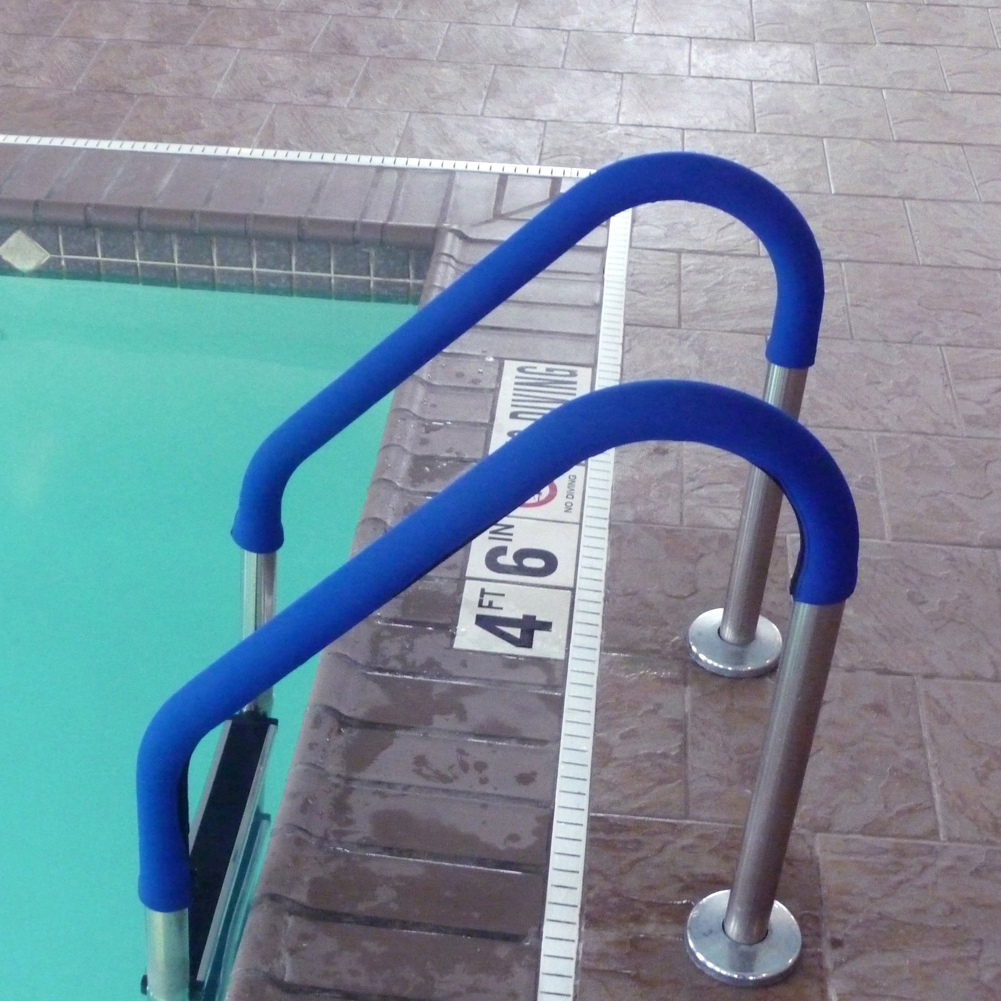 Blue Wave NE1253 Blue Grip for Pool Handrails, 8-Feet, Each (Sold individually, not in pairs) by Blue Wave