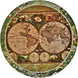 "CoasterStone AS285 Absorbent Coasters, 4-1/4-Inch, ""Old World Maps"", Set of 4"