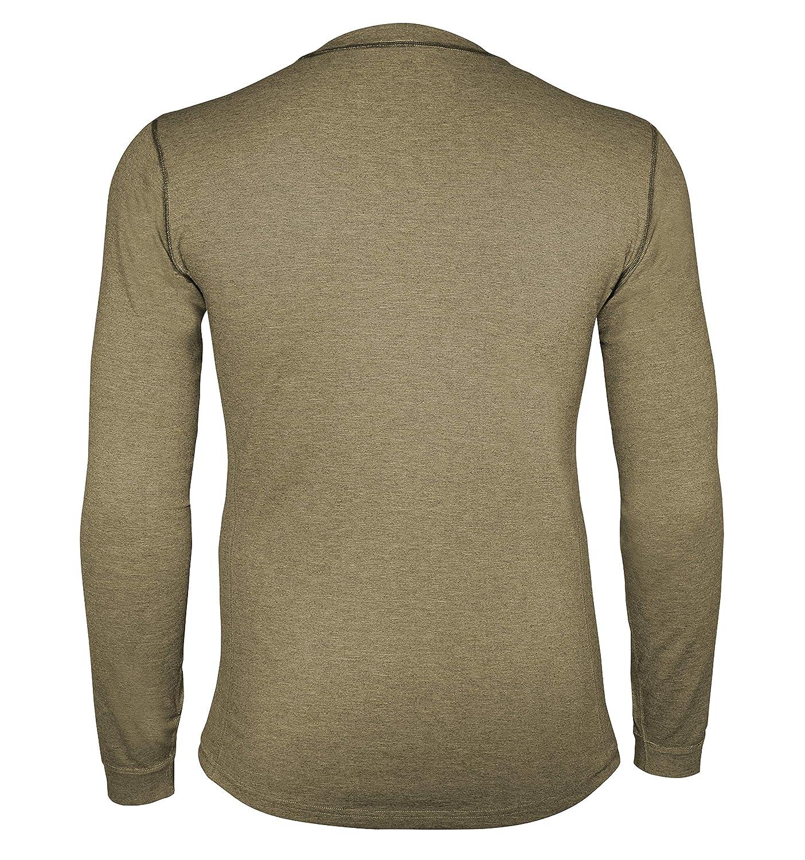 Carhartt Mens Force Heavyweight Thermal Base Layer Long Sleeve Pocket Shirt