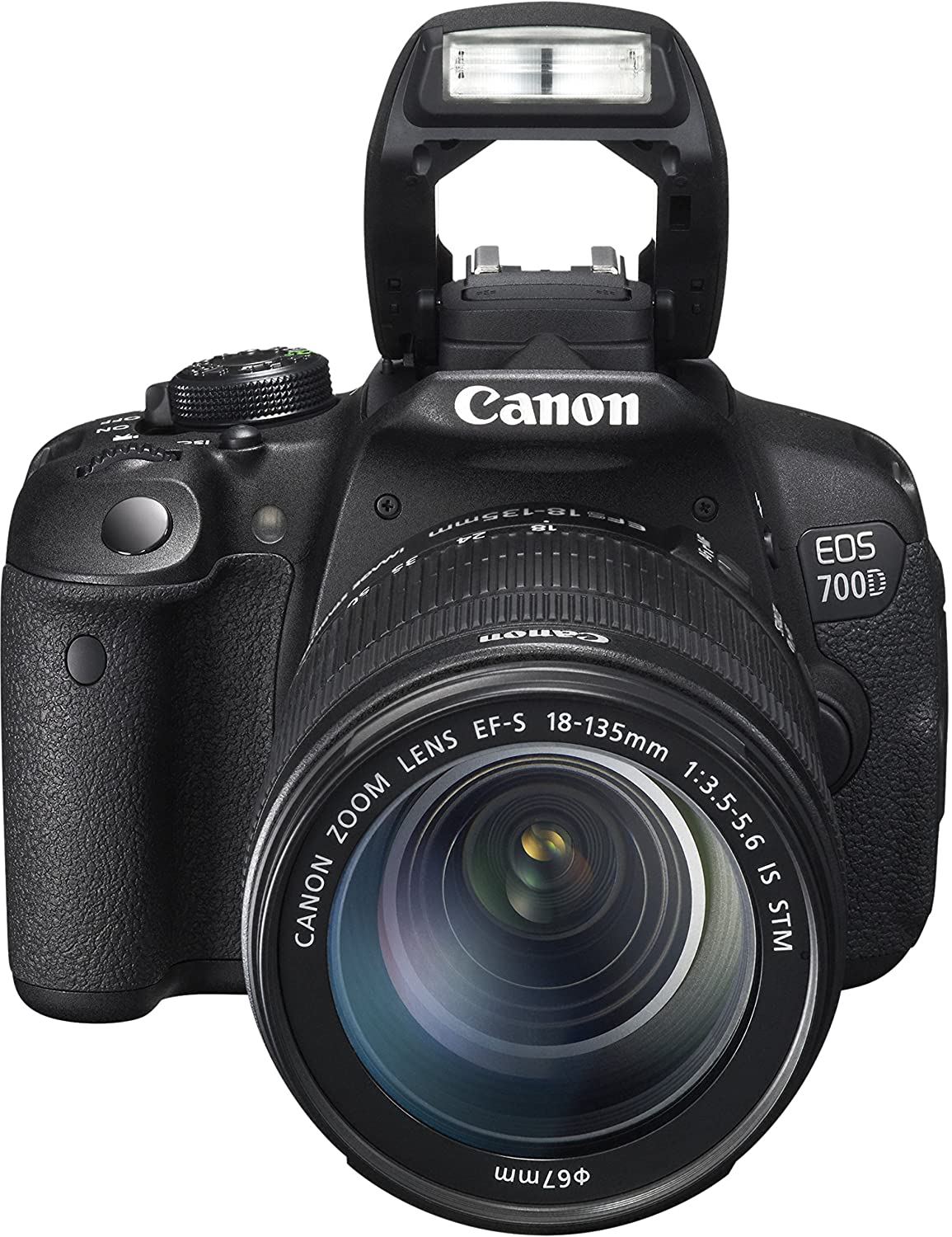 Canon EOS 700D - digital camera EF-S 18-135mm IS STM: Amazon.co.uk ...