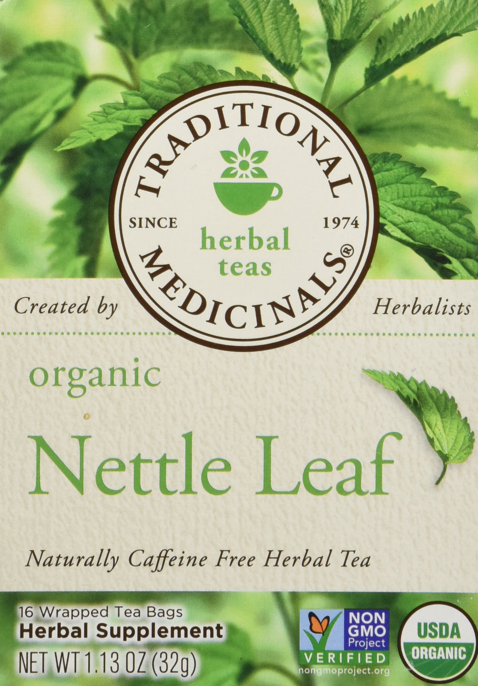 Cheapest amazon herbs - Traditional Medicinals Organic Nettle Leaf 1 13 Oz 16 Bags