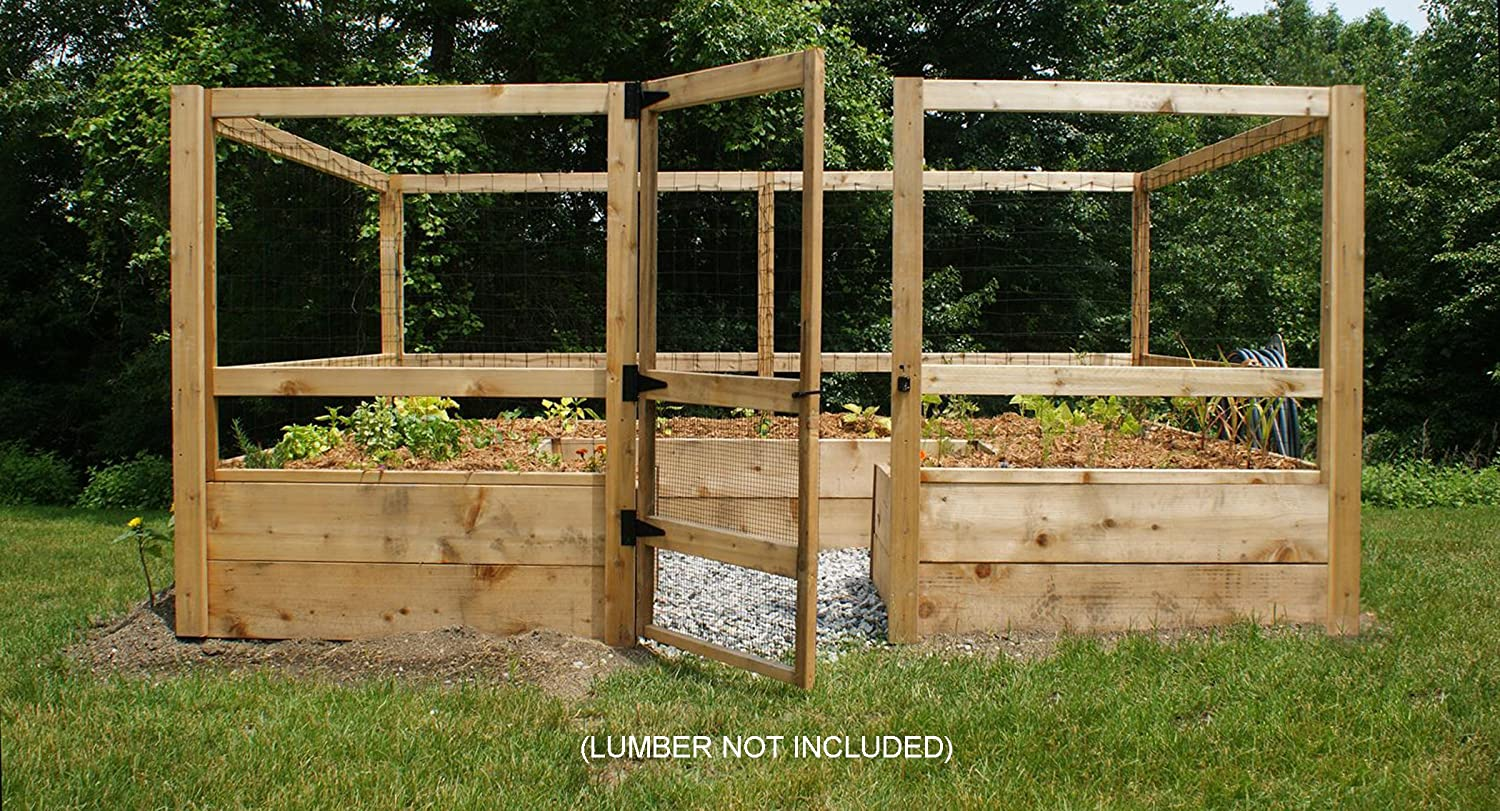 Amazoncom Deerproof Just Add Lumber Vegetable Garden Kit 8