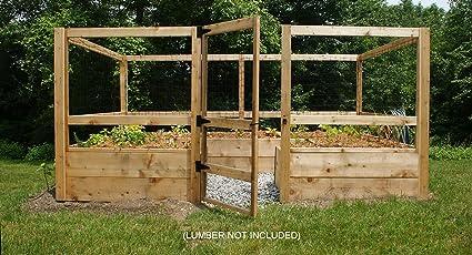 Deer Proof Just Add Lumber Vegetable Garden Kit ...