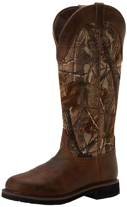 c7ddf363bfa Justin Original Work Boots Men's Stampede Snake Work Boot