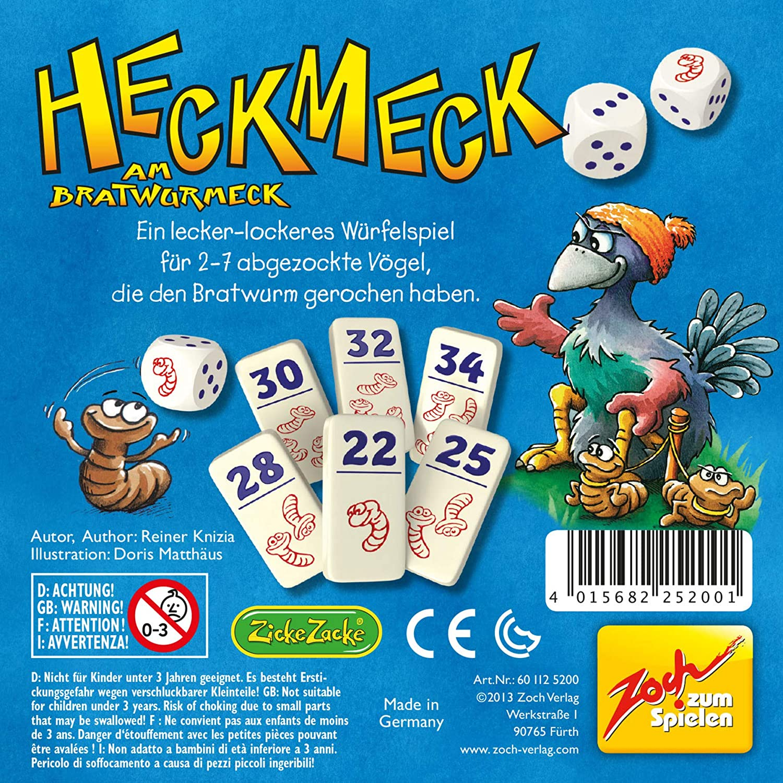 "Zoch 601125200 /""heckmeck am bratwurmeck/"" game-neuf"