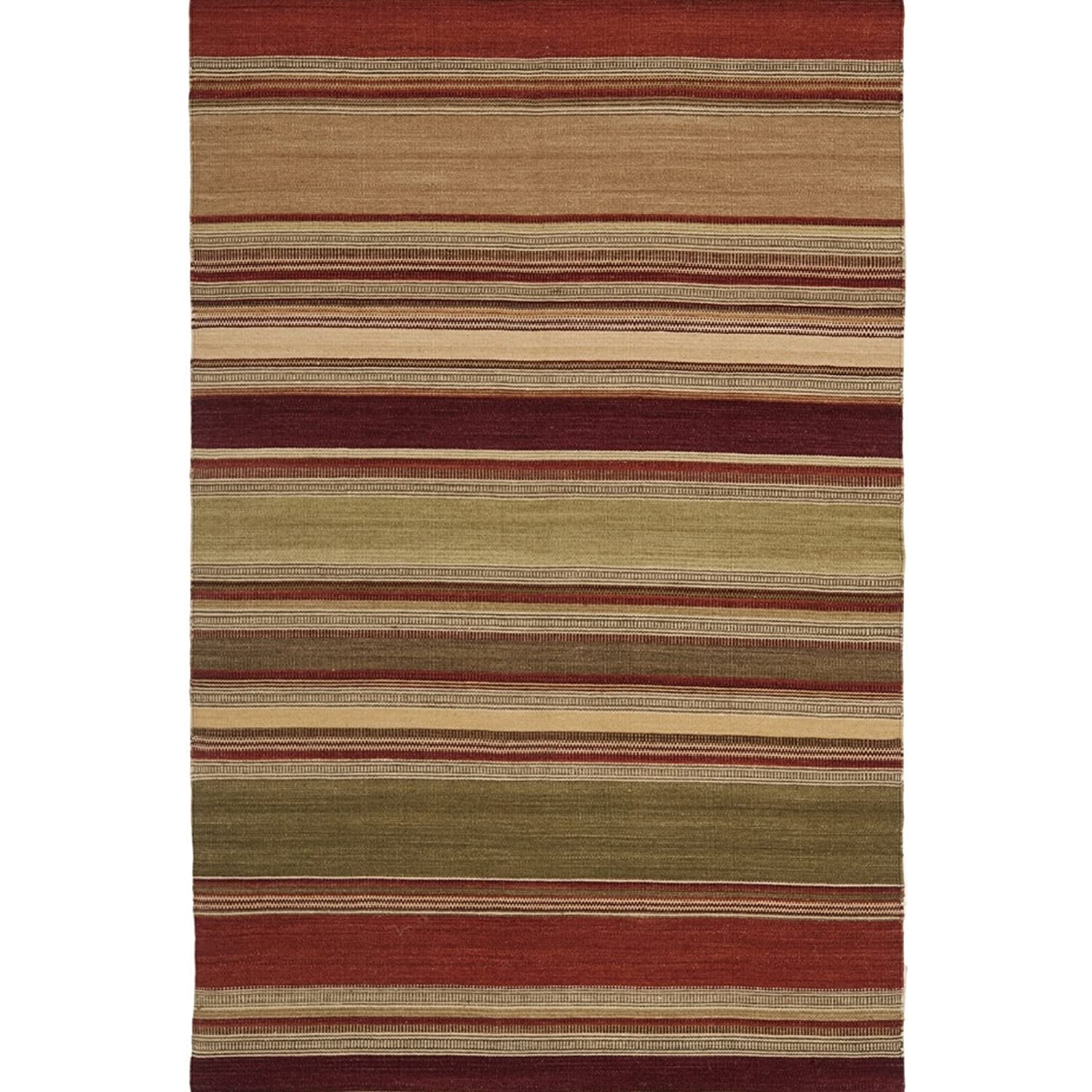 safavieh kristof kilim tapis laine rouge 121 x 182 cm 683726974475 ebay. Black Bedroom Furniture Sets. Home Design Ideas