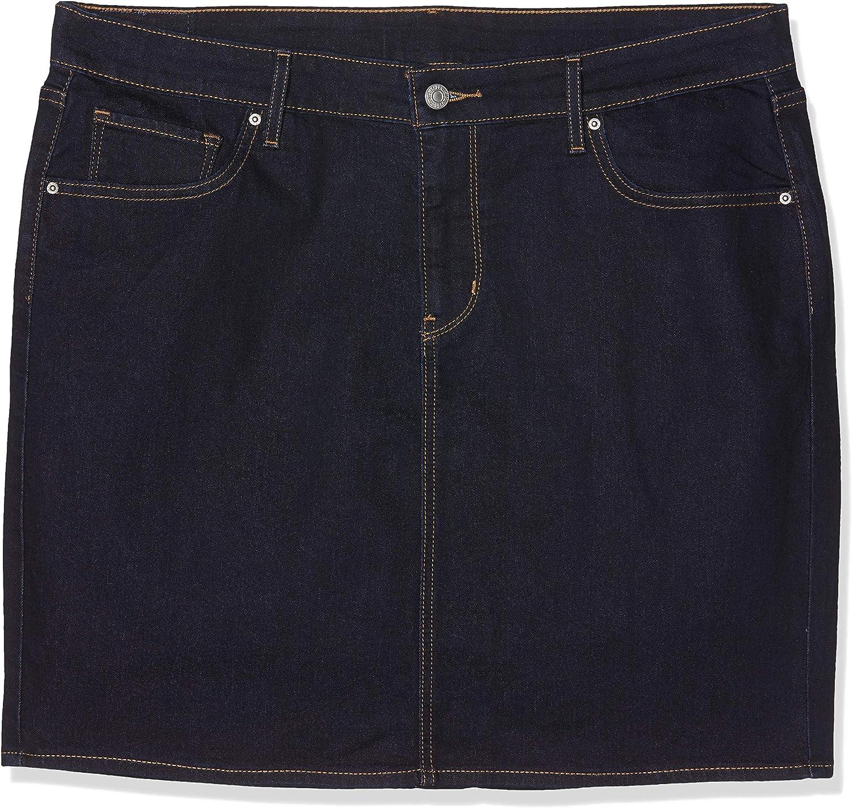 Levis New Workwear Skirt Falda, Azul (Darkest Sky), 40 (Talla del ...