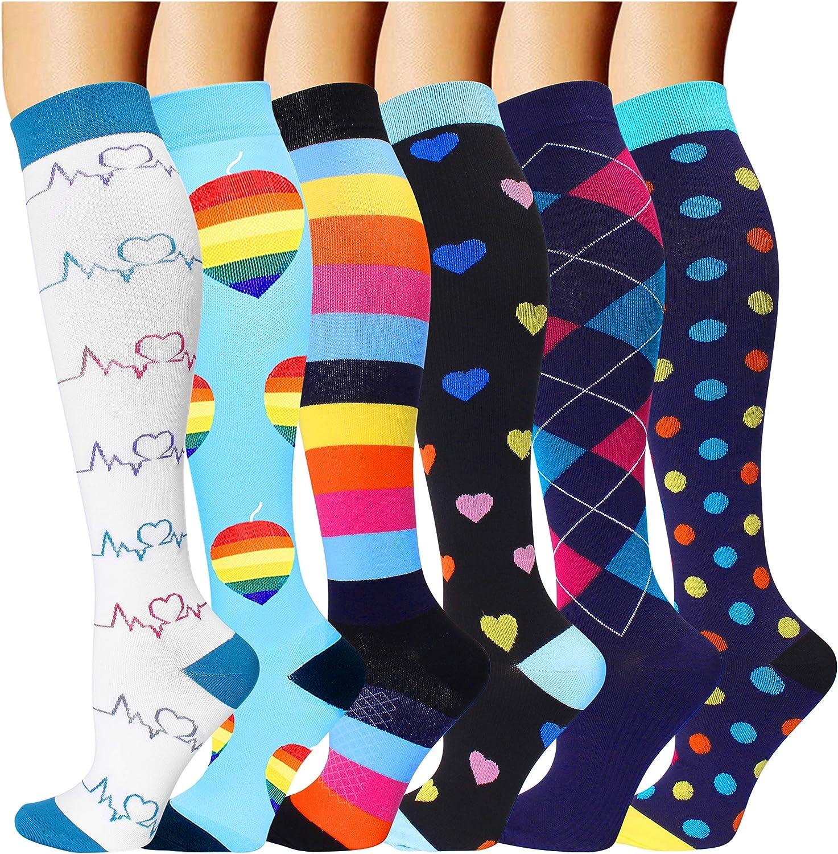 2//3 Pairs Compression Socks Mens Womens Socks Sports Socks Running Gym 5 Colours