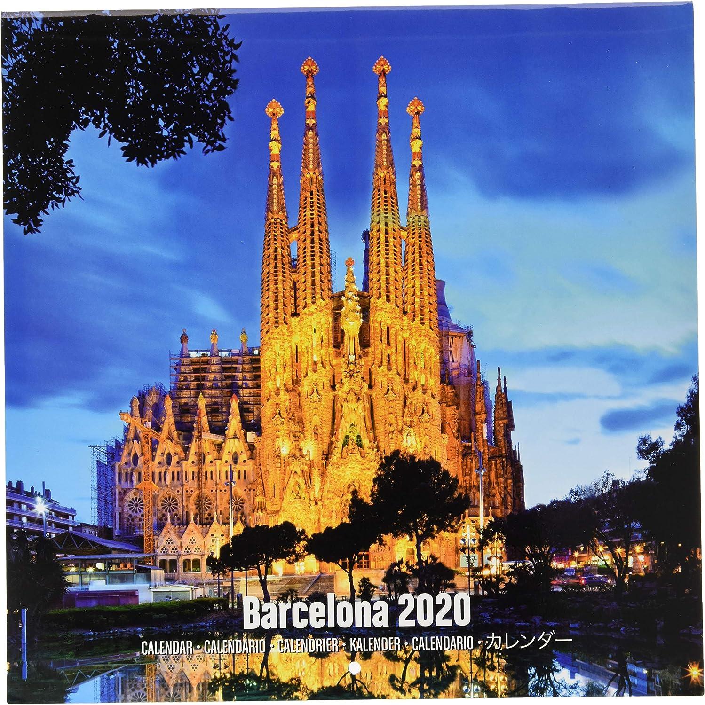 ERIK - Calendario de pared 2020 Barcelona, 30 x 30 cm