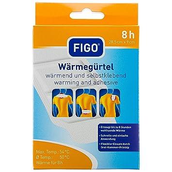 Amazon.com: FIGO cinturón térmico (calor cojín chaleco dolor ...