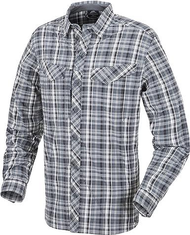 Helikon-Tex Hombre Defender Mk2 City Camisa Stone Plaid tamaño 3XL: Amazon.es: Ropa y accesorios