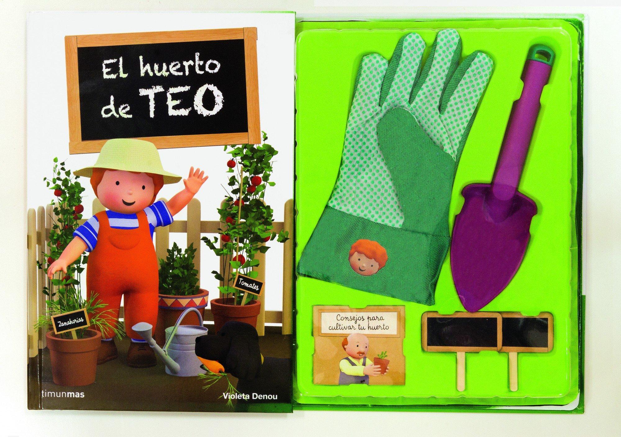 El huerto de Teo (Libros especiales de Teo): Amazon.es: Denou ...