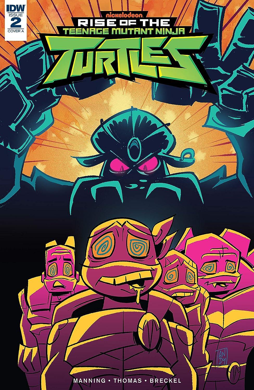 Teenage Mutant Ninja Turtles: Rise of the TMNT #2 (English ...