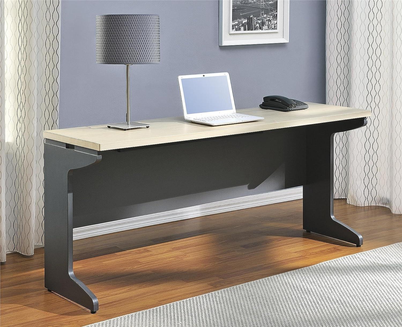 Altra Benjamin Credenza Natural Gray Furniture Office