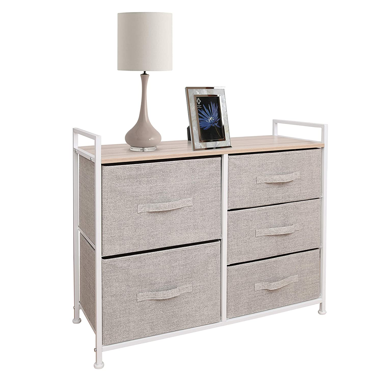 Top-rated East Loft 5 drawers bedroom dresser