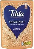 Tilda Steamed Basmati Coconut 250 g (Pack of 6)