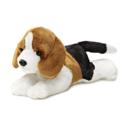 "Aurora - Mini Flopsie - 8"" Homer (Beagle): Toys & Games"