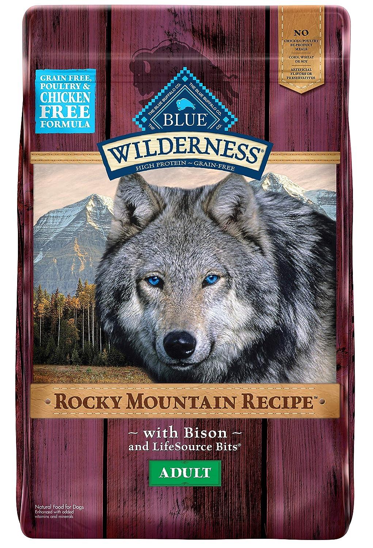 7.Blue Buffalo Wilderness Rocky Mountain Recipe High Protein Grain Free Dog Food